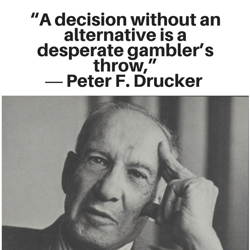 Peter Drucker the effective executive