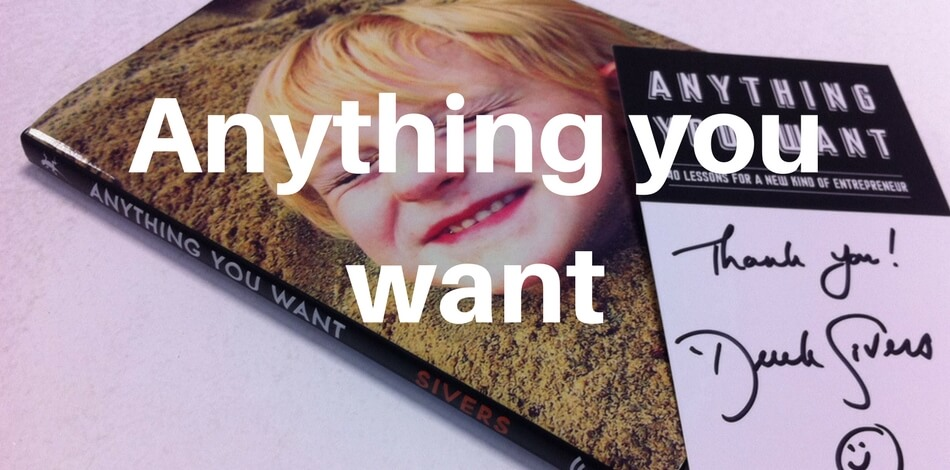Anything you want (Derek Sivers) – Zusammenfassung